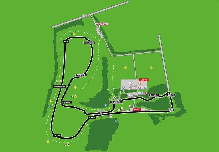 Cadwell Park diagram