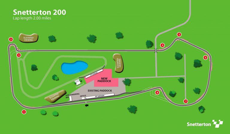 Snetterton 200 diagram