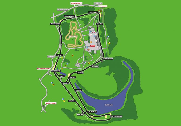 Oulton Park diagram